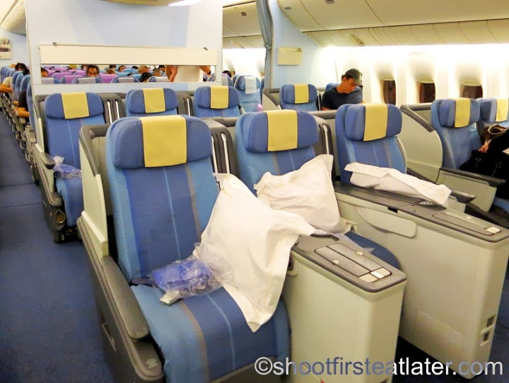 Philippine Airlines B777-300ER - business class