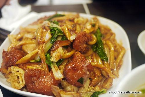 Shanghai noodles w/ spareribs