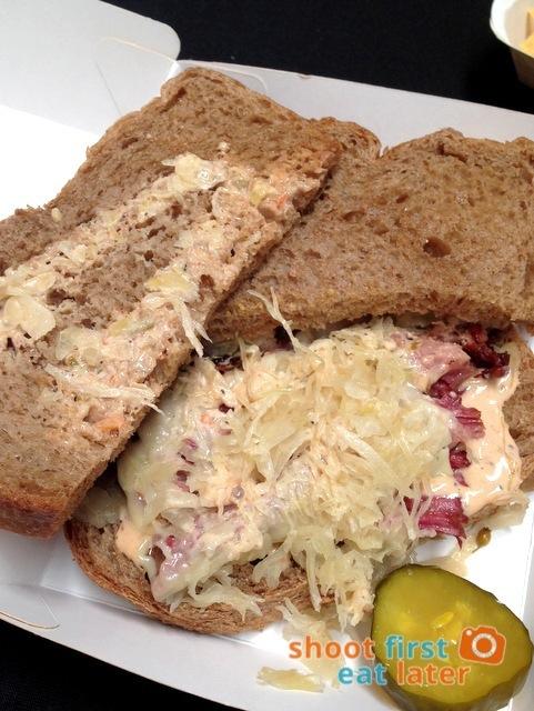 Mr. D's Reuben sandwich P350