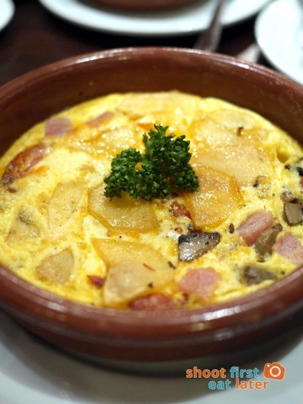 Costa del Sol (The City Club)-  Tortilla de Paisana P350