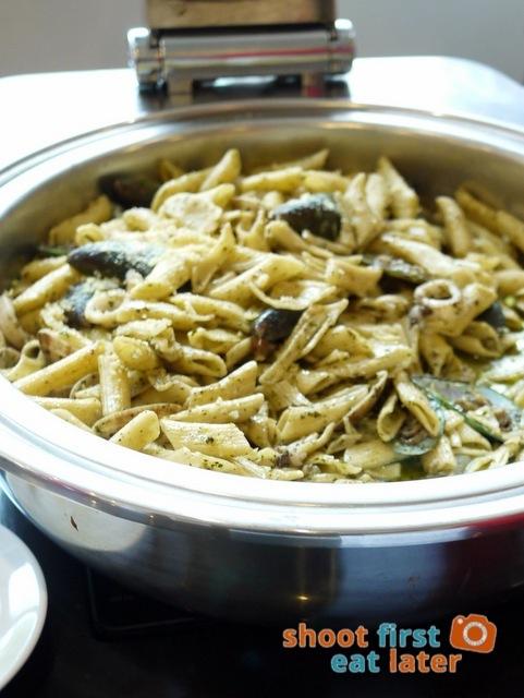 Chef Laudico Guevarra's- seafood pesto