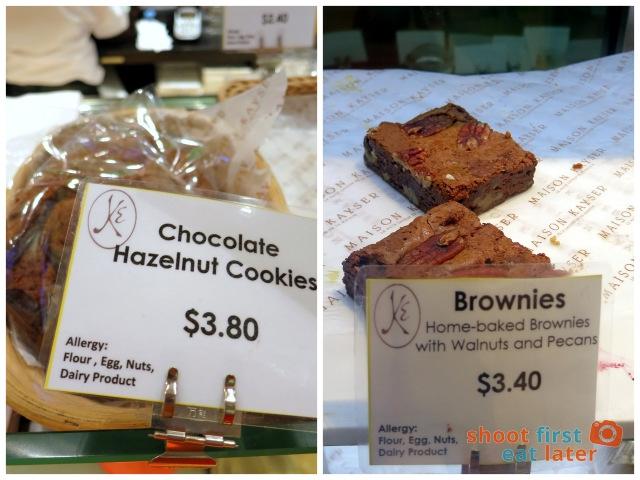 Maison Kaiser cookie & brownie