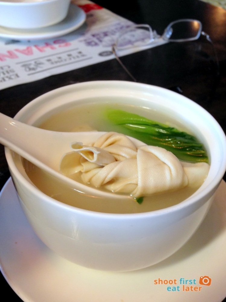 Shanghai Popo- soup with beancurd skin