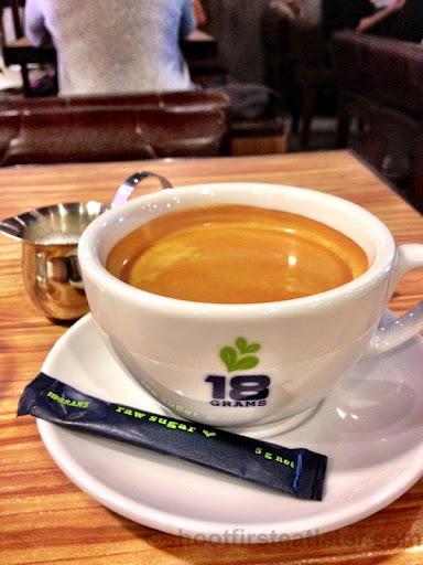 18 grams house coffee HK$28-001