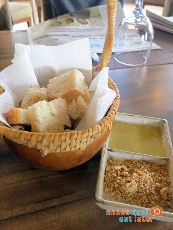 Hill Station Baguio- Bread Cubes with Dukkah and Olive Oil