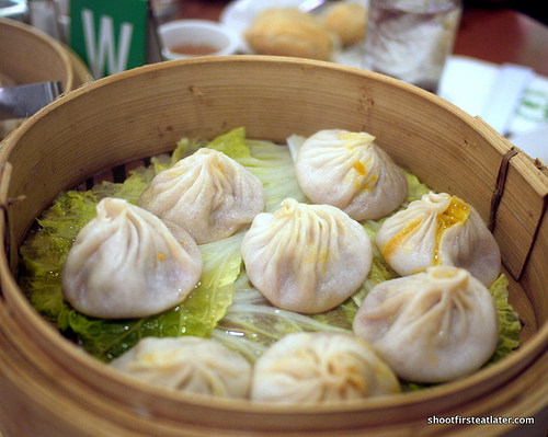 Crab Meat with Pork Meat Steamed Bun or xiao long bao