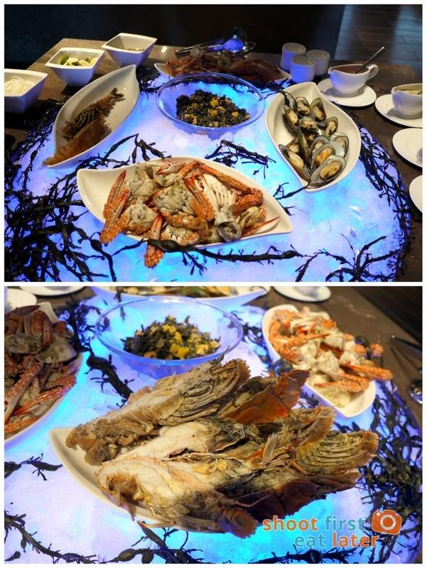 Marco Polo Hotel Ortigas Cucina Restuarant Buffet- Slipper Lobster, New Zealand Mussels,  Alimasag