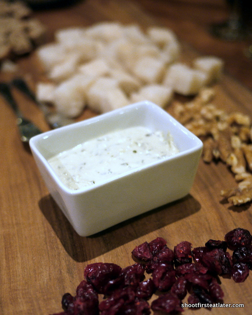 blue cheese mousse