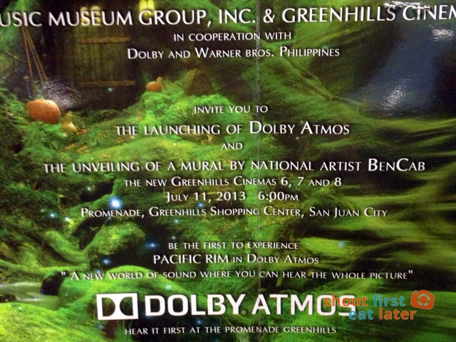 Greenhills Promenade Cinemas with Dolby Atmos