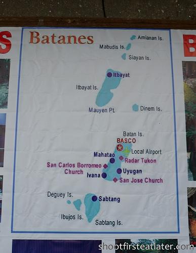 Pension Ivatan- map of Batanes