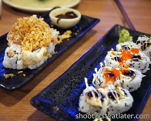 sushi @ Sumo Sam