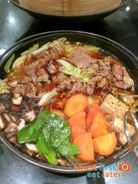 Spiral Buffet- sukiyaki