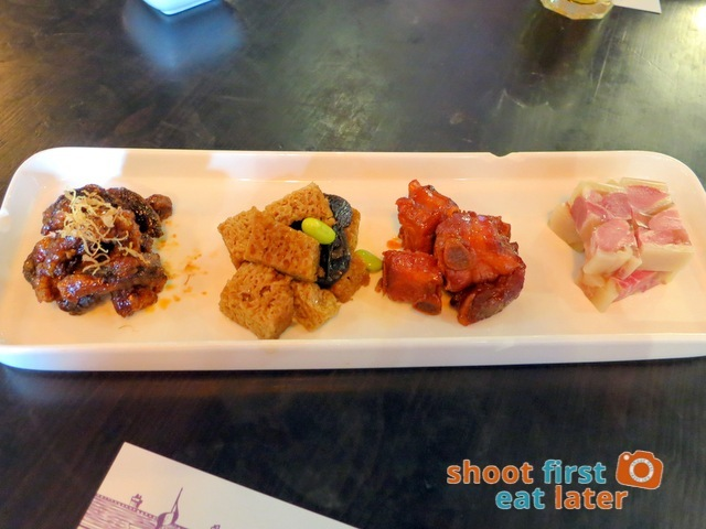 four kinds of cold dishes HK$92