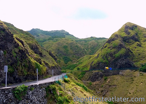 long & winding road in Chawa, Batanes
