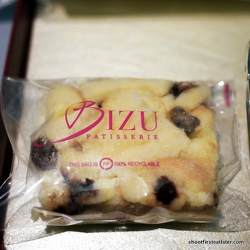bread pudding from Bizu
