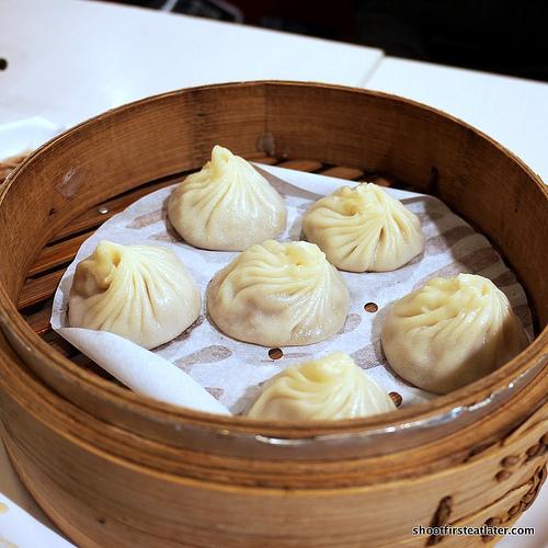 steamed juicy Shanghai dumplings