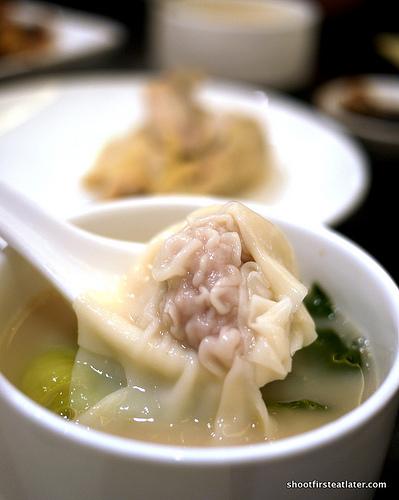 wonton in soup