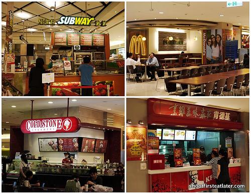 Taipei 101 fast food -17