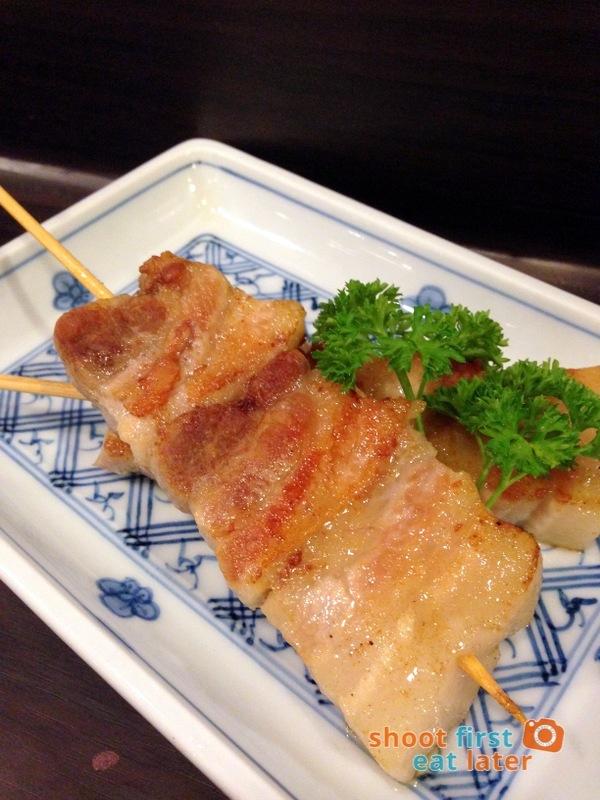 Tanabe Japanese Resaurant- Buta Bara Shio P160