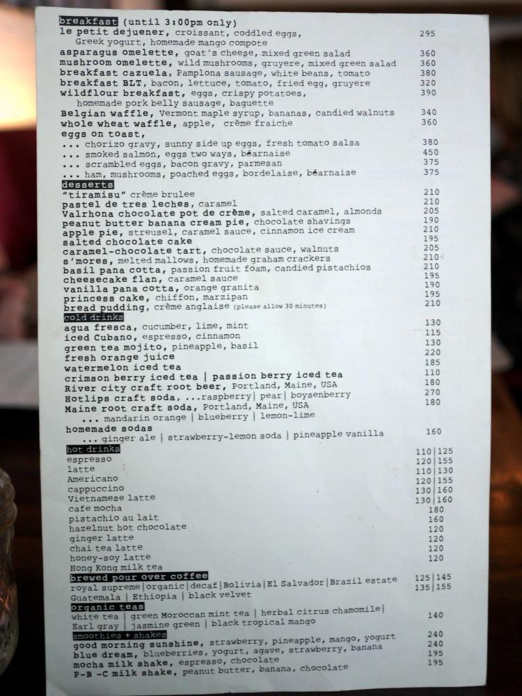 Wildflour Cafe + Bakery (Fort Bonifacio)- menu-001