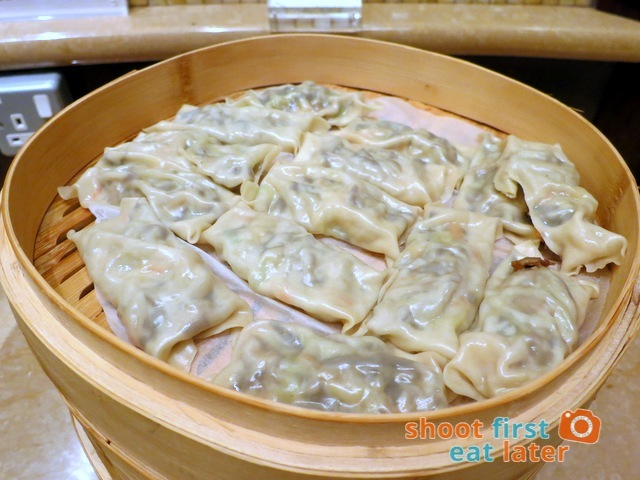 Sheraton Macao Club Lounge breakfast buffet - dumplings