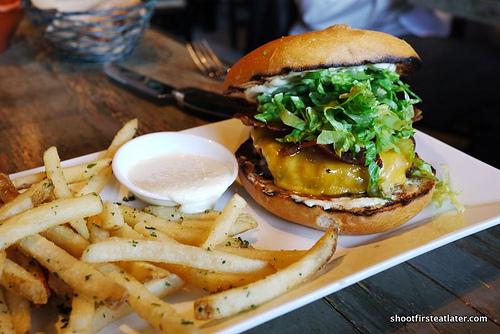 Marlowe burger