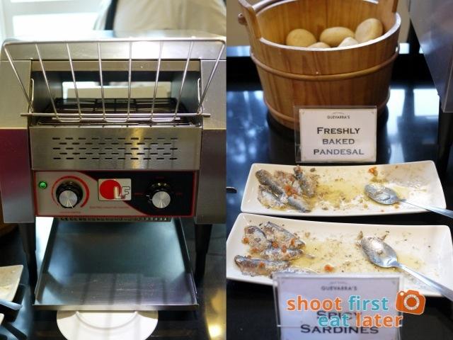 Chef Laudico Guevarra's- pandesal, spicy sardines