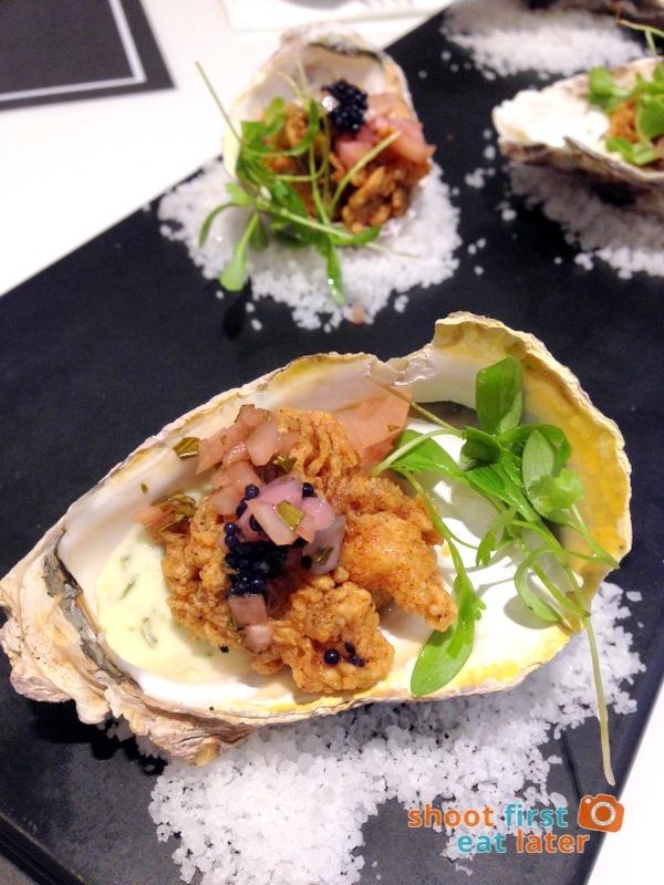 Todd English Food Hall Manila- Fried Oyster P320-001