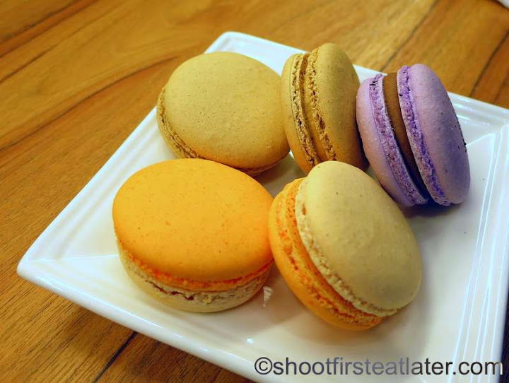 Chez Karine- macarons P50 each