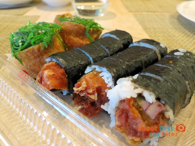 sushi sushi Melbourne- soft shelled crab hand roll A$3.50