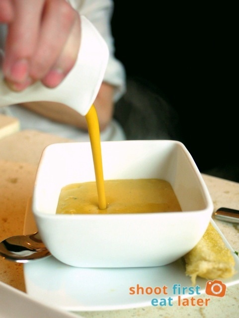 Oven Roasted Squash Soup P249