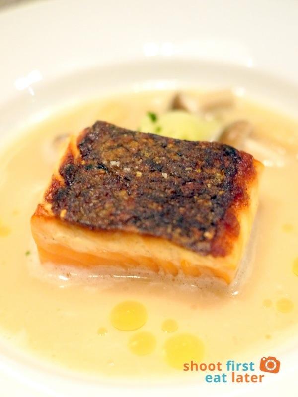 Allium Restaurant - Fresh Irish Salmon Micuit