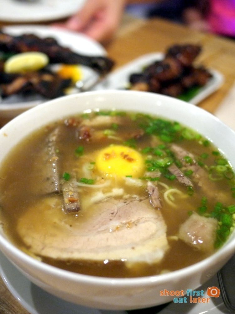 Sarsa Kitchen+Bar- Sarsa Batchoy Special P240