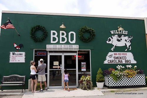 Willie's Smoked Carolina BBQ-2