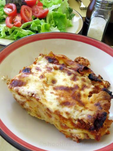 lasagna al ragu €6-001
