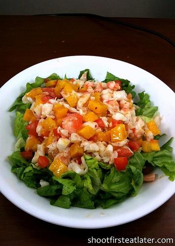 Cohen Lifestyle Seafood Meals- shrimp & mango salad