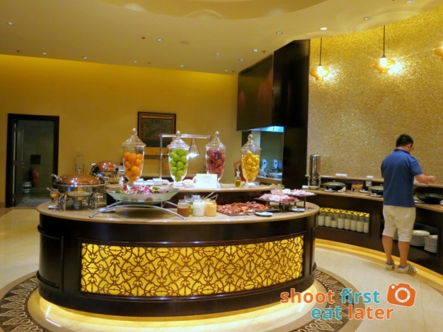 Sheraton Macao Club Lounge breakfast buffet -001