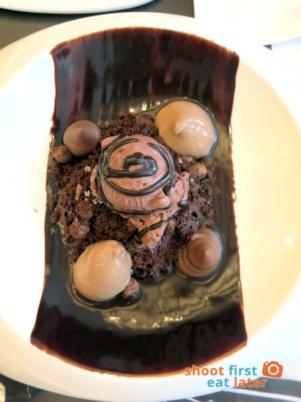 Todd English Food Hall Manila- OMG Chocolate Cake P420