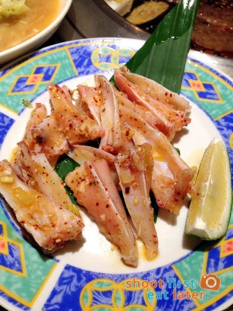 Gyumon Yakiniku Restaurant- tori nankatsu (chicken cartilage soft bone) P230