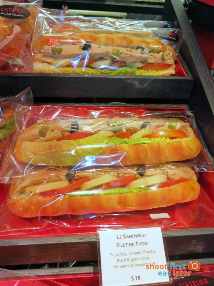 Le Salon de Thé de Joel Robuchon (Elements HK)- tuna sandwich HK$78