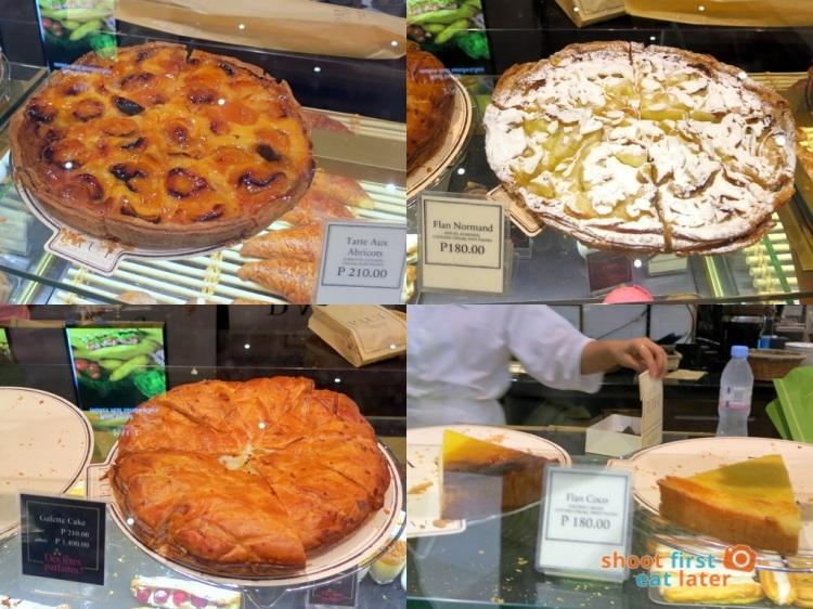 Paul Boulangerie Manila- grandmother style tarts & cakes