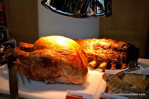 roast turkey & roast beef