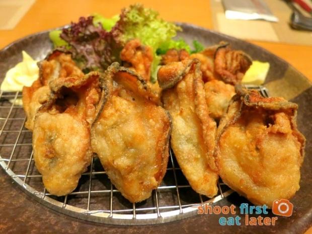 Edo Japanese Restaurant - fried oysters