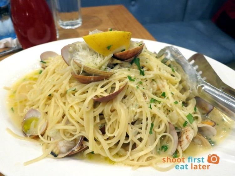 Cyma Restaurant (Shangri-La)- Greek Clams Pasta P750 (family size)