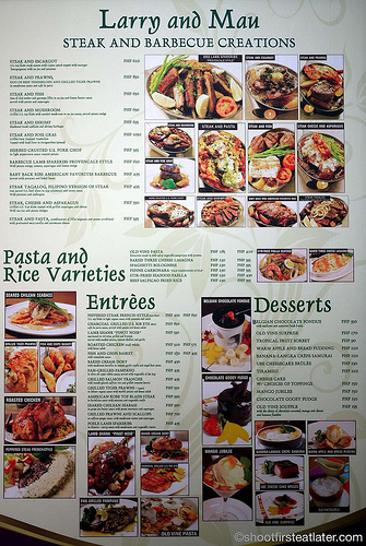 Old Vine's menu-1