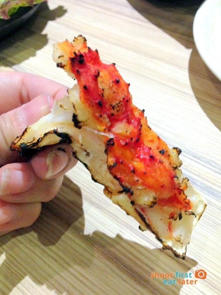 Kitsho Restaurant - Grilled King Crab