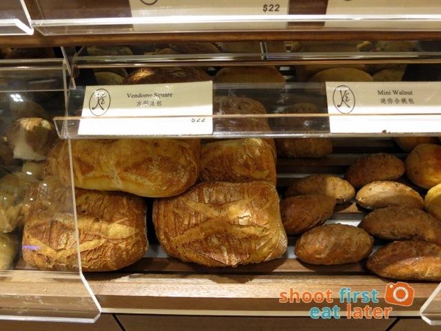 Eric Kayser Hong Kong - vendome square HK$22 mini walnut