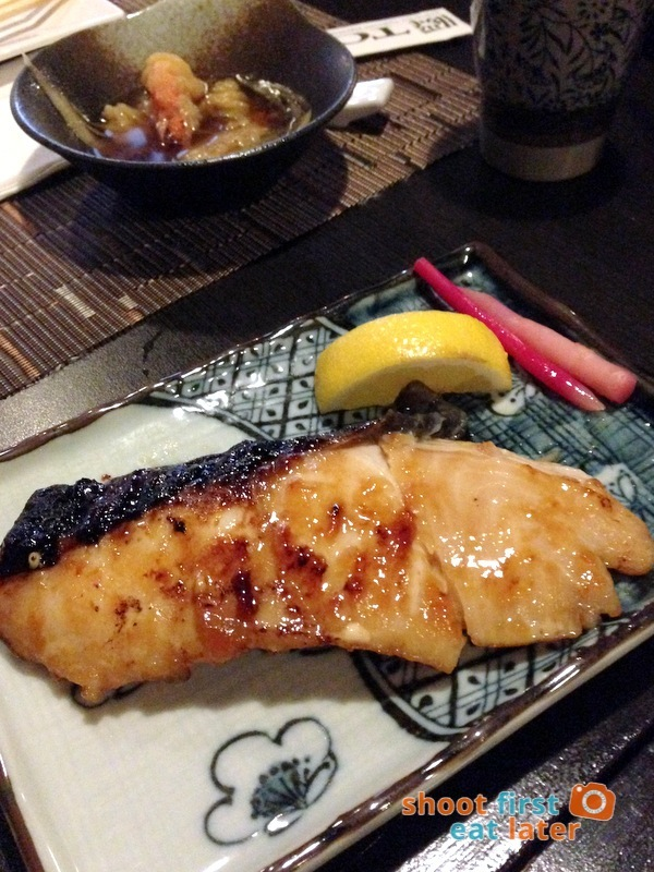 Toki Japanese REstaurant- gindara teriyaki P750