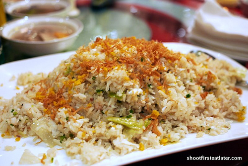 Tao Yuan special seafood fried rice