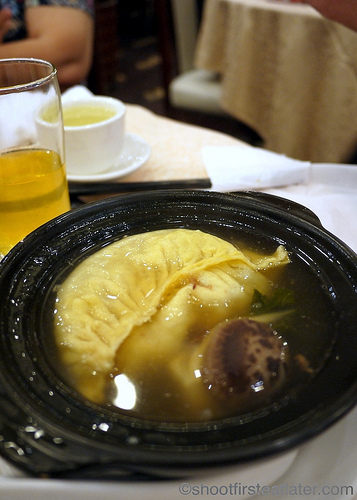 sharksfin dumpling soup